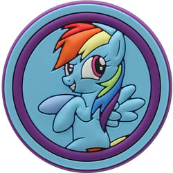 Jibbitz - My Little Pony Rainbow Dash