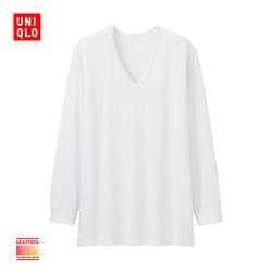 【Special sizes】Men HEATTECH V-neck T-shirt (9-Sleeved) 172 756