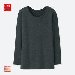 Women HEATTECH round neck T-shirt (long sleeves) 400 244