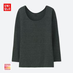 Women HEATTECH U-neck T-shirt (eight sleeves) 400 243