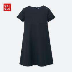 Kids / Girls round neck dress (short sleeves) 405 349