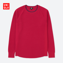 Men's sports round neck sweater (long sleeves) 407 910
