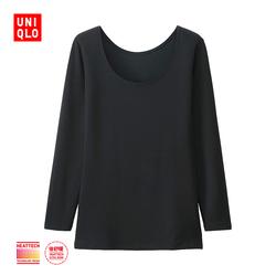 Women HEATTECH EXTRA WARM T-shirt (eight sleeves) 177 080