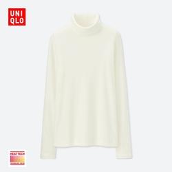 Women HEATTECH fleece two lapel T-shirt (long sleeves) 400 176