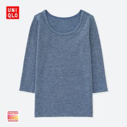Baby / Child Care HEATTECH U-neck T-shirt (long sleeves) 400 404