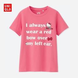 Women (UT) SANRIO printed T-shirt (short sleeve) 404 726