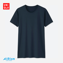 【Special sizes】Men AIRism round neck collar T-shirt (short sleeves) 403 523