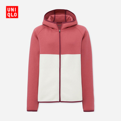 【Special sizes】Women's casual sports hooded zip cardigan (long sleeves) 404 748