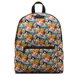 Fabric Backpack ADVENTURE TIME PRINT FINE CANVAS