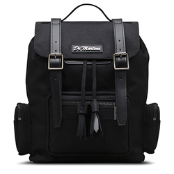 SMALL SLOUCH BACKPACKS BLACK EXTRA TOUGH NYLON+SMOOTH