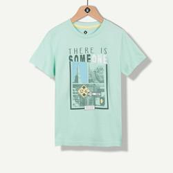 T-shirt vert nil photoprint New York