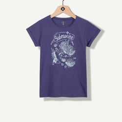 T-shirt marine print fantaisie