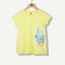 T-shirt jaune maci print estival