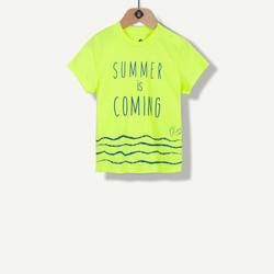 T-shirt summer jaune
