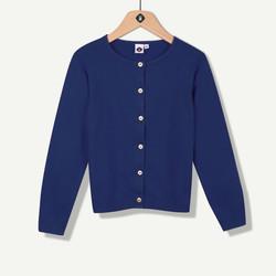 Cardigan tricot marine