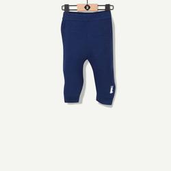 Pantalon marine lapin brodé