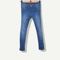 Jeans slim bleu navy