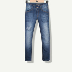 Jeans slim confort indigo