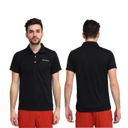 Charcoal POLO Collar T-Shirt
