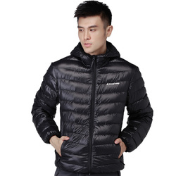 Hooded Lightweight Down Jacket