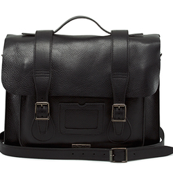"15"" INUCK LEATHER SATCHEL"