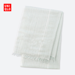 Women's cotton and linen blend scarf