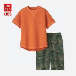 Children's clothing/boys living suit (short sleeve)