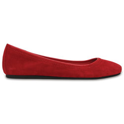Lina Suede Flat