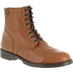 PADDOCK adult horse riding LACE-UP boots