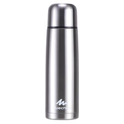 Stainless Steel Insulated Bottle For Hiking - 1 L, Metal