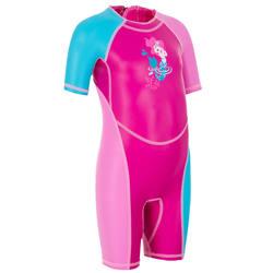 Kloupi Baby Girls' Shorty Swimsuit