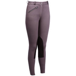 Victoria Women's Horse Riding Jodhpurs - Light Brown