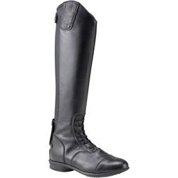 LB 900 Adult Horse Riding Leather Boots - Black
