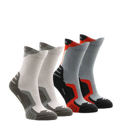 2 pairs of children's high length mountain hiking crossocks
