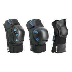Fit 5 Adult Inline Skating Skateboarding Scootering Protectors x3