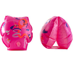"Kids' Inflatable Armbands with ""Zebra"" Print 11-30 kg"