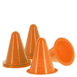 Pack of 10 inline skating slalom cones