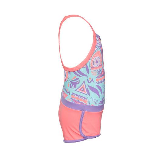 39ea671a3ae42 ... Debo Light Girls' One-Piece Legsuit Shorty Swimsuit ...