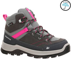 Forclaz 500 Mid Children's Waterproof Hiking Shoes