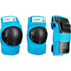 Basic Children's 3-Piece Protective Gear for Skates/Skateboard/Scooter