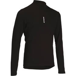 100 Long-Sleeved Cycling Jersey - Black