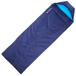 Forclaz 10° Bivouacking/Hiking/Trekking Sleeping Bag - Right Zip