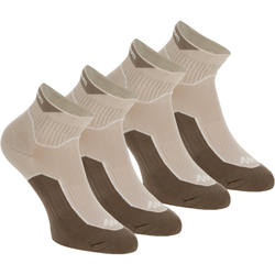 Arpenaz 100 low cut adult hiking socks 2 pairs
