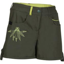 Girl's Hike 500 Hiking Shorts tribal