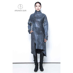 Lamb leather Coat, vegetable tanned and naturally dyed.(sold out / захиалгын дагуу хийгдэнэ)