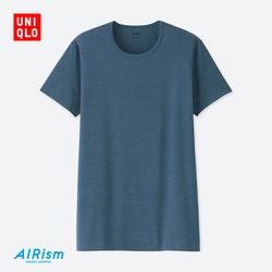 Men's AIRism Crew T-Shirt (Short Sleeve)