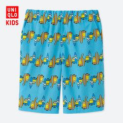 Children's Wear / Boys (UT) MINIONS BS Lightweight Cotton Elastic Shorts