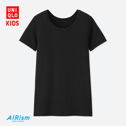 Children's wear AIRism U-neck T-shirt (short sleeve)