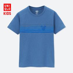 Children's wear/boys/girls (UT) DPJ MICKEY&The SUN printing T-shirt
