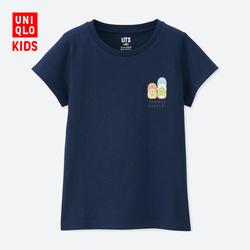Children's clothing/girls (UT) Sumikkogurashi printed T-shirt (short sleeve)